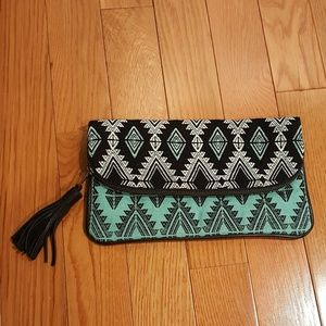 Guatemalan Handwoven foldover purse